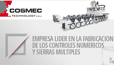 centros de trabajo CNC Cosmec
